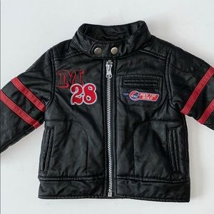 Disney Moto Sports Embroidered Jacket